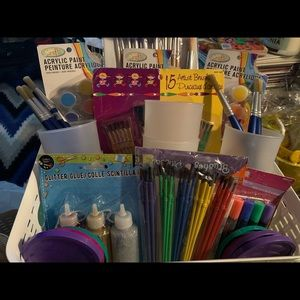 Painting craft supplies